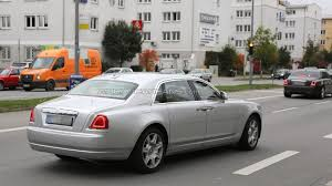 ghost bentley rolls royce ghost facelift spied in munich