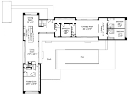 One Story House Plans With Walkout Basement by L Shaped House Plans Hahnow