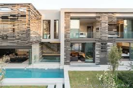 luminous eco friendly home in south africa of glass and steel