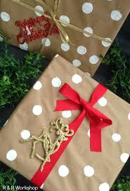 polka dot gift wrap gift wrapping ideas find 15 easy diy and budget friendly ideas