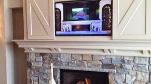 Over Fireplace Decor How To Install Tv Over Fireplace Regarding Your Home Living Room