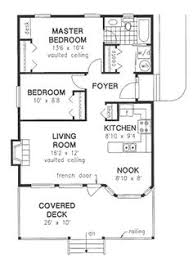 Two Bedroom Cabin Plans Home Plans Homepw74380 1 200 Square Feet 2 Bedroom 2 Bathroom