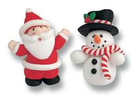 Christmas Cake Decorations Amazon by Christmas Cake Toppers Amazon Co Uk