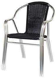 Restaurant Patio Chairs Black Rattan Aluminum Patio Chair Restaurant Furniture Canada