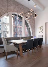 The Dining Room West Village Renovation Transforms A U002770s Loft Into An Elegant