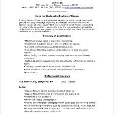 Dance Instructor Resume Sample by Music Resume Music Industry Executive Resume Samples U0026