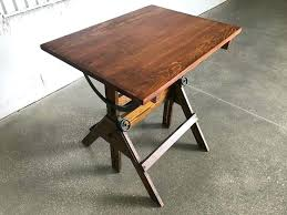 Antique Drafting Table Parts Antique Drafting Table Vintage Articulated Oak And Maple Drafting