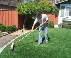 Fake Grass For Backyard by How To Clean Artificial Grass Remove Pet Odors And Stains In Yard