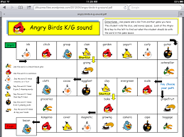 angry bird articulation language activities speech therapy