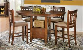 White Pub Table Set - dining room amazing counter height dining table with 6 chairs