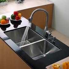 stainless steel kitchen sink combination kraususa com discontinued kraus 33 inch undermount 60 40 double bowl 16 gauge stainless steel kitchen