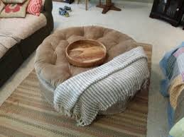my bellicon mini trampoline disguised as an ottoman great
