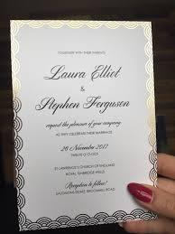 gold foil wedding invitations gold foil wedding invitations ballymena day print