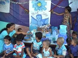 blue day celebration in tvs nagar