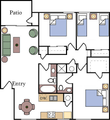 bedroom floorplan floor plans and pricing almondwood apartments