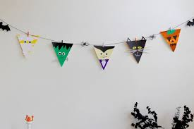 halloween bunting flags we u0027re going to make it
