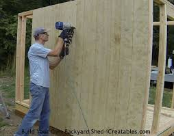 How To Build A Wood Shed Plans by How To Build A Shed Storage Shed Building Instructions