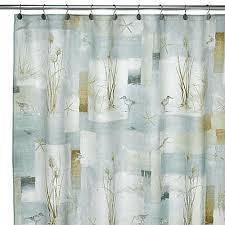 Shower Curtains Bed Bath And Beyond Avanti Blue Waters Fabric Shower Curtain Bed Bath U0026 Beyond