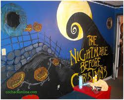 nightmare before bedroom decor clash house