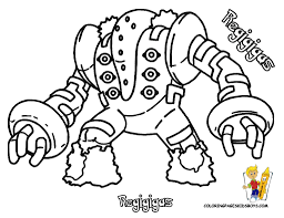 imagenes pokemon regigigas coloring pages book for boys bebo pandco