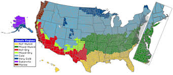 america climate zones map homes across america a showcase of green homes and resources