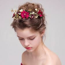 wedding headband aliexpress buy handmade flower bridal hairstyles gold