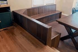 banquette dining table tms furniture nook black set vintage wood