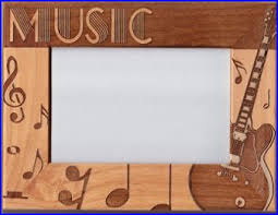 themed frames musical picture frames gifts