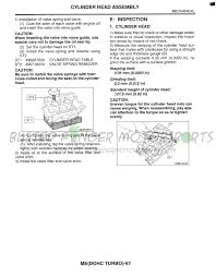 busted finger motorsports ej205 cylinder head cheat sheets