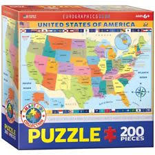 usa map jigsaw puzzle map puzzle ebay