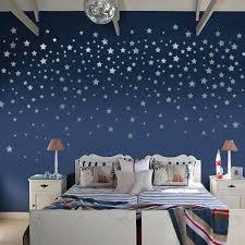 mode étoiles stickers muraux enfants chambre bébé bricolage wall