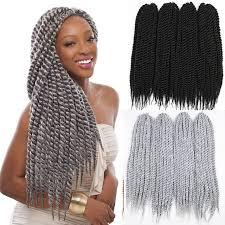 ombre senegalese twists braiding hair 22inch 120gram12strands hot havana mambo twist crochet braid hair