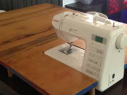 Portable Sewing Table by Diy Sewing Machine Extension Table Not So Wide In The Front