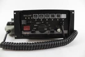 whelen siren light controller whelen siren and light controller and more 3 pieces property room