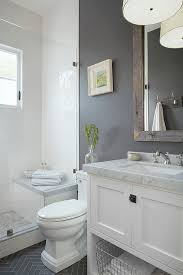 bathroom tidy ideas tidy gray painted small bathroom design with white marble