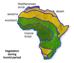 africa map climate zones africa vegetation and plant distribution maps library