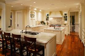 small l shaped kitchen design with wooden furniture and white