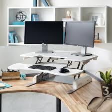 Adjustable Height Corner Desk Best Adjustable Height Desk Ideas On Pinterest Adjustable