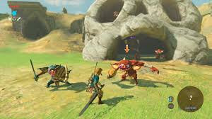 we played the legend of zelda breath of the wild and u2026 wow