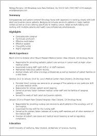 Medical Resume Templates Medical Resume Templates To Impress Any Employer Livecareer