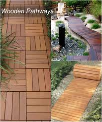 Backyard Pathway Ideas 15 Diy Pathway Ideas 101 Recycled Crafts