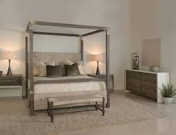 Canopy Bed Frame Design Woven Abaca Canopy Bed Villa Vici Contemporary Furniture Store