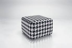 furniture houndstooth ottoman red ottoman cube ottoman storage