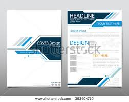 technical brochure template annual report brochure flyer design template stock vector