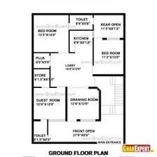 home design for 50 gaj 50 gaj area house layout plan gharexpert com konsep6