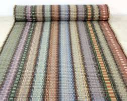 Pastel Rag Rug Rag Rug Runner Kitchen Rug 2 U0027 X 6 U0027 Striped Rug In