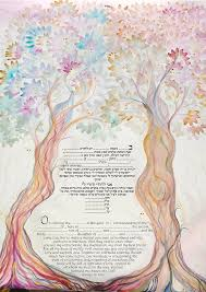 interfaith ketubah reformed or interfaith ketubah to fill contact me for custom