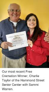 cremation free charles our most recent free cremation winner