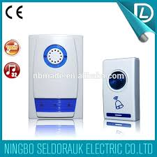 wireless doorbell system with light indicator wireless doorbell system with multiple chimes alert review light