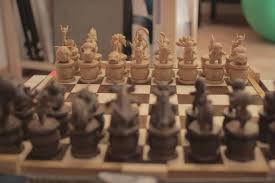 unusual chess sets pokemon chess u2013 an awesome 3d printed pokemon chess set ufunk net